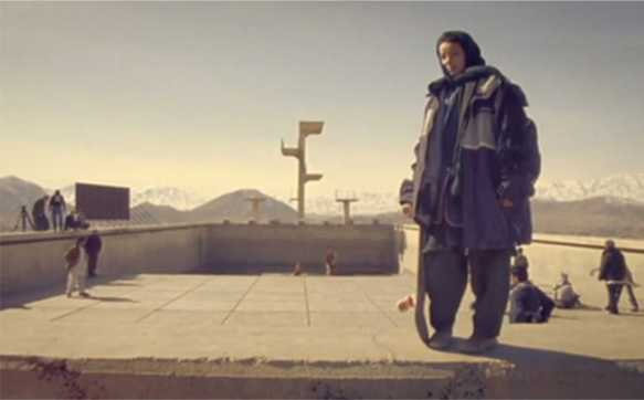Skateistan - Babyshark's Minority Report - Alejandro Bocanegra